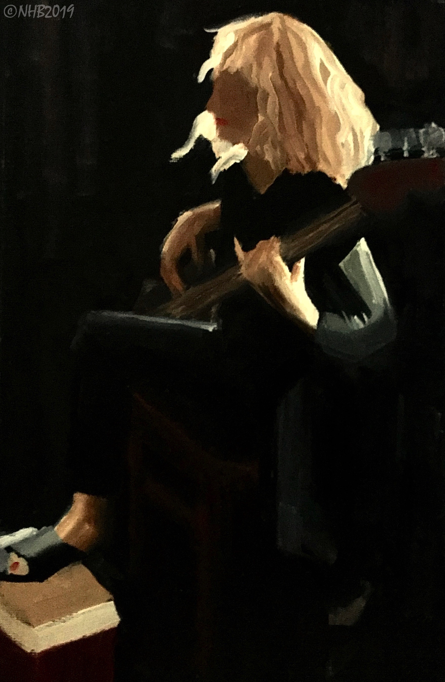 Lynne at Play