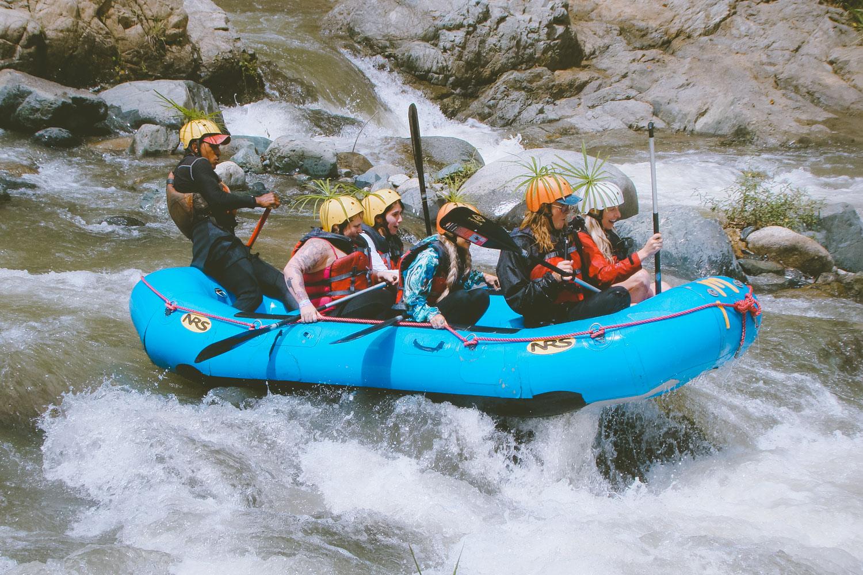 River Rafting Yaque Del Norte at  Rancho Baiguate