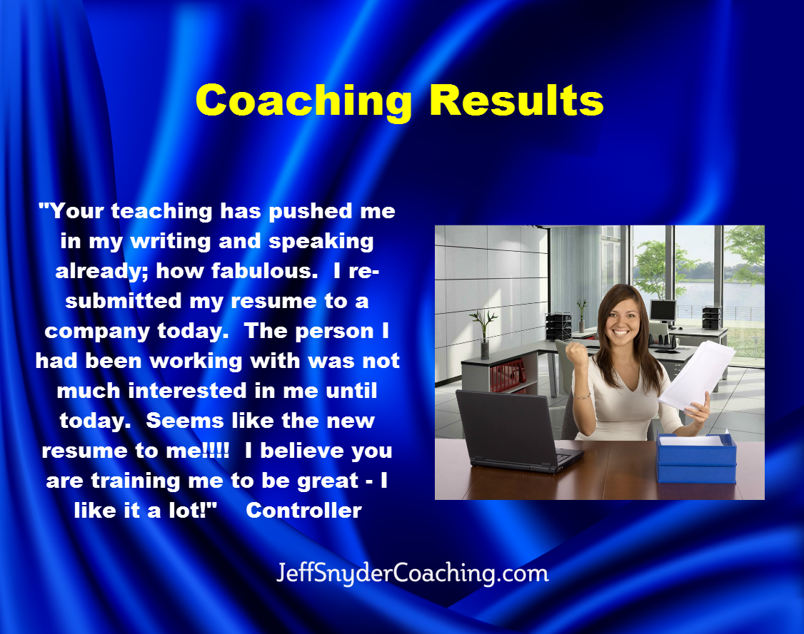 Jeff Snyder Coaching