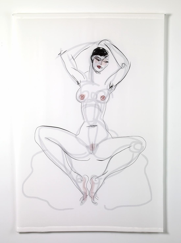 White Silk Scroll Series: Symmetry