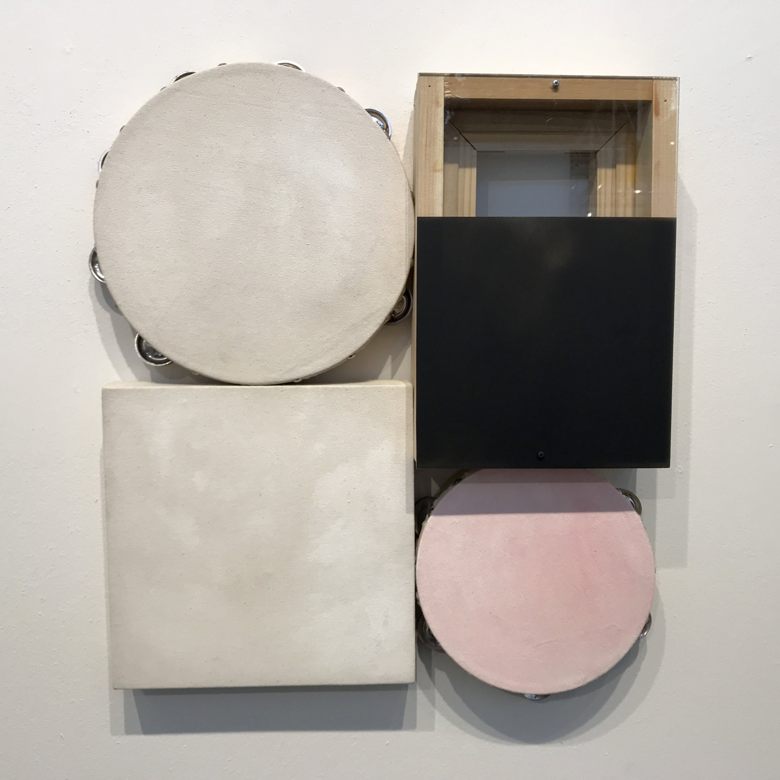 I know I was attracted this day to circles and pink. This piece feels just right to me. At Fog.