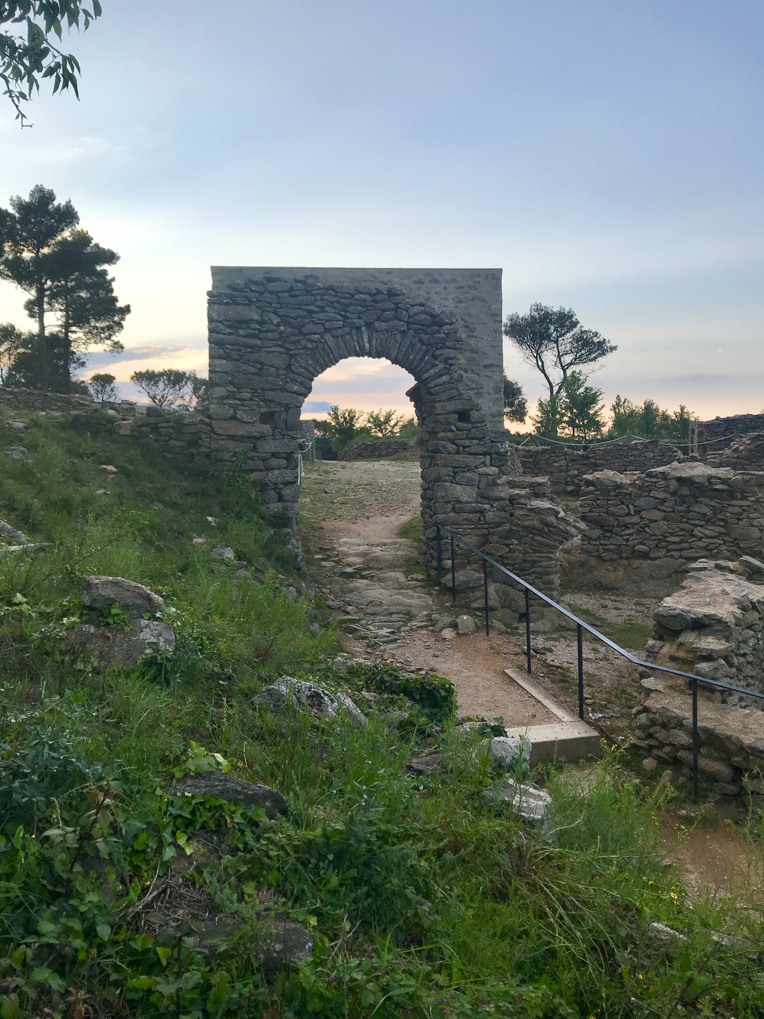 A short drive north of Girona took us here for sunset.