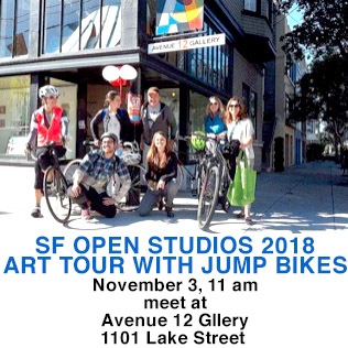 Artspan's bike tour on 11/3