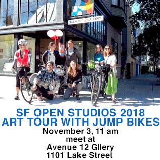 Artspan's bike tour on 11/3