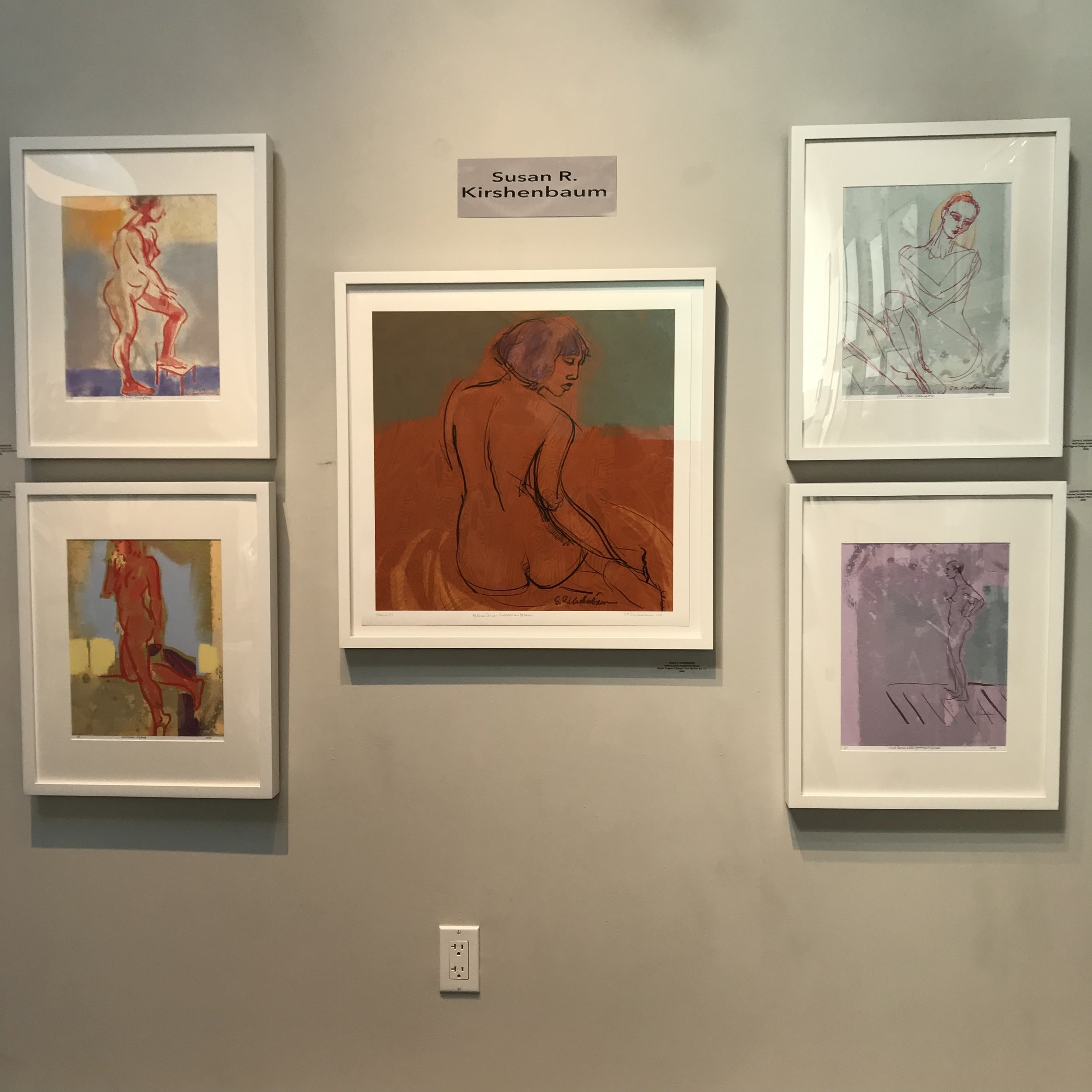 Open Studios show at SFWA Artists Gallery
