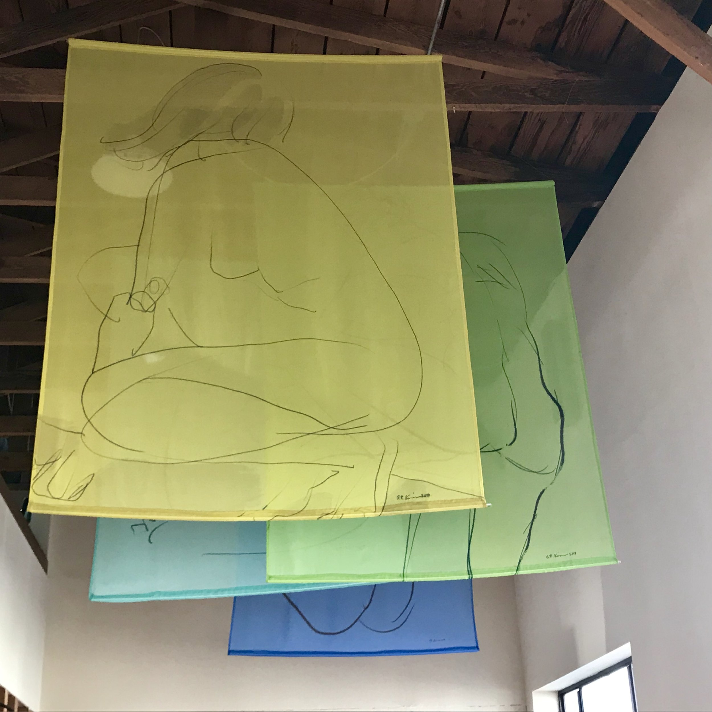 "The ""Banderas Series"" at Radian Gallery in 2018"