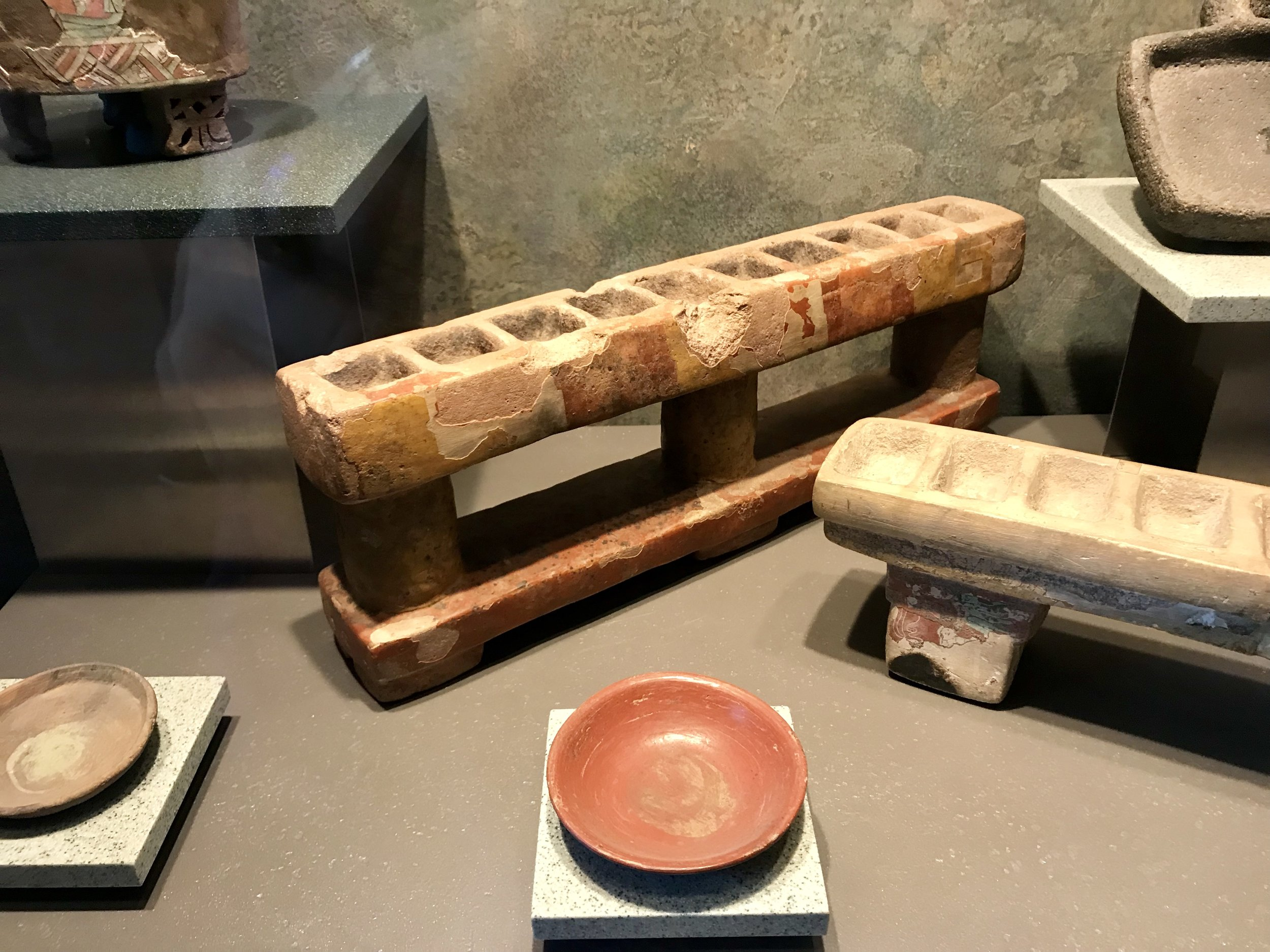 Ancient painting tools