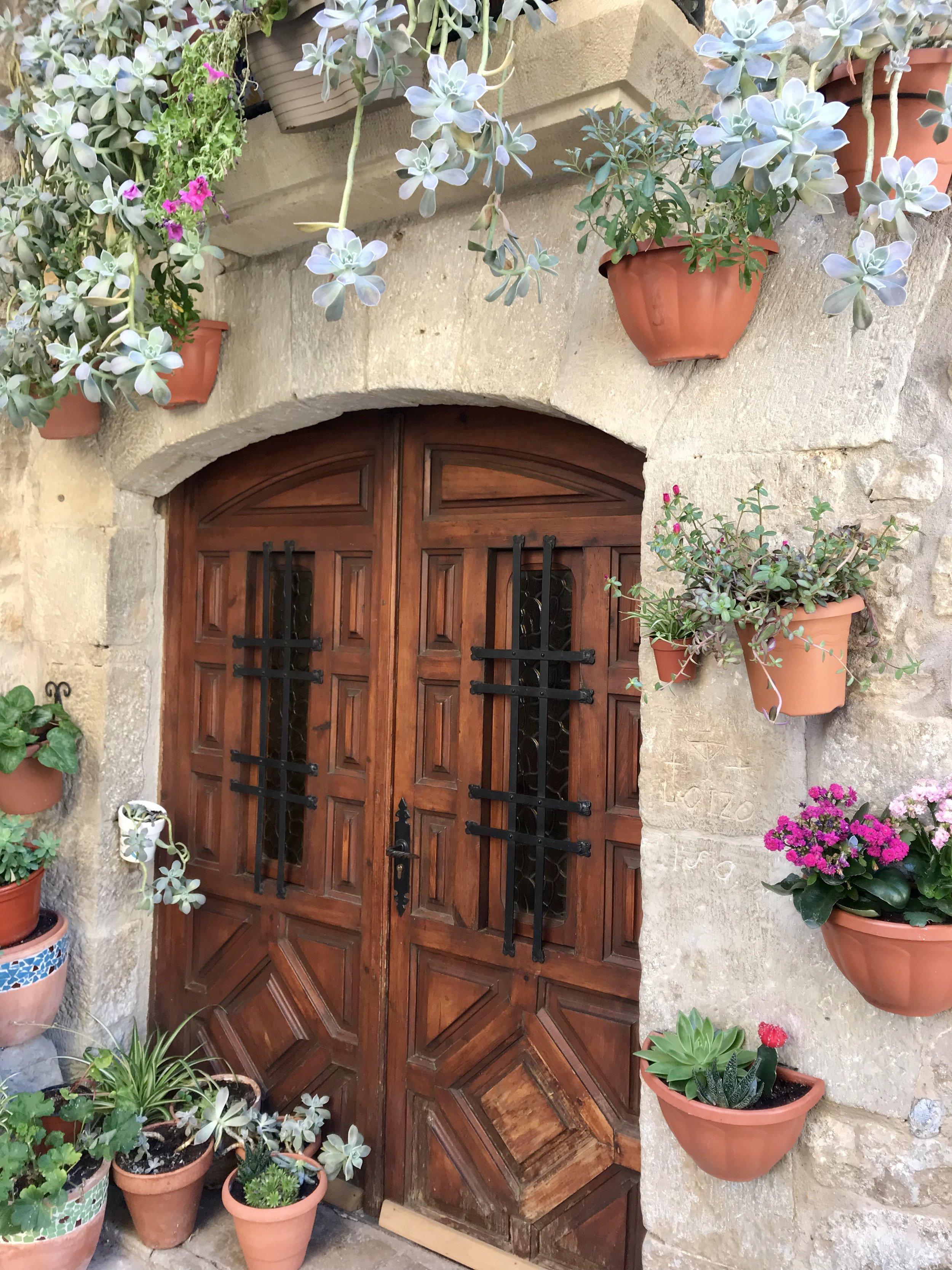 Charming entryway