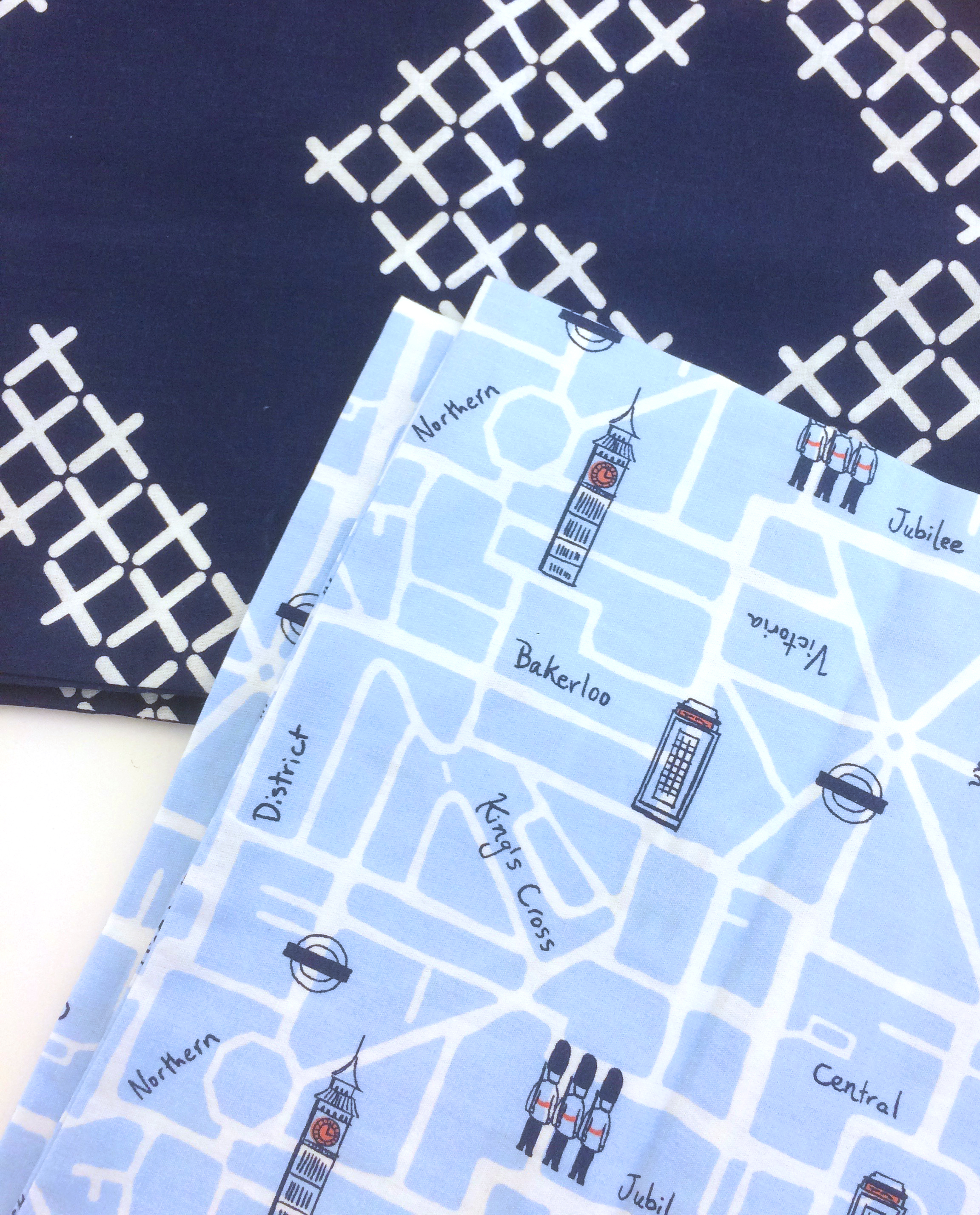 Comforter and Novelty Sheet Set (for Martha Stewart: Whim collection)