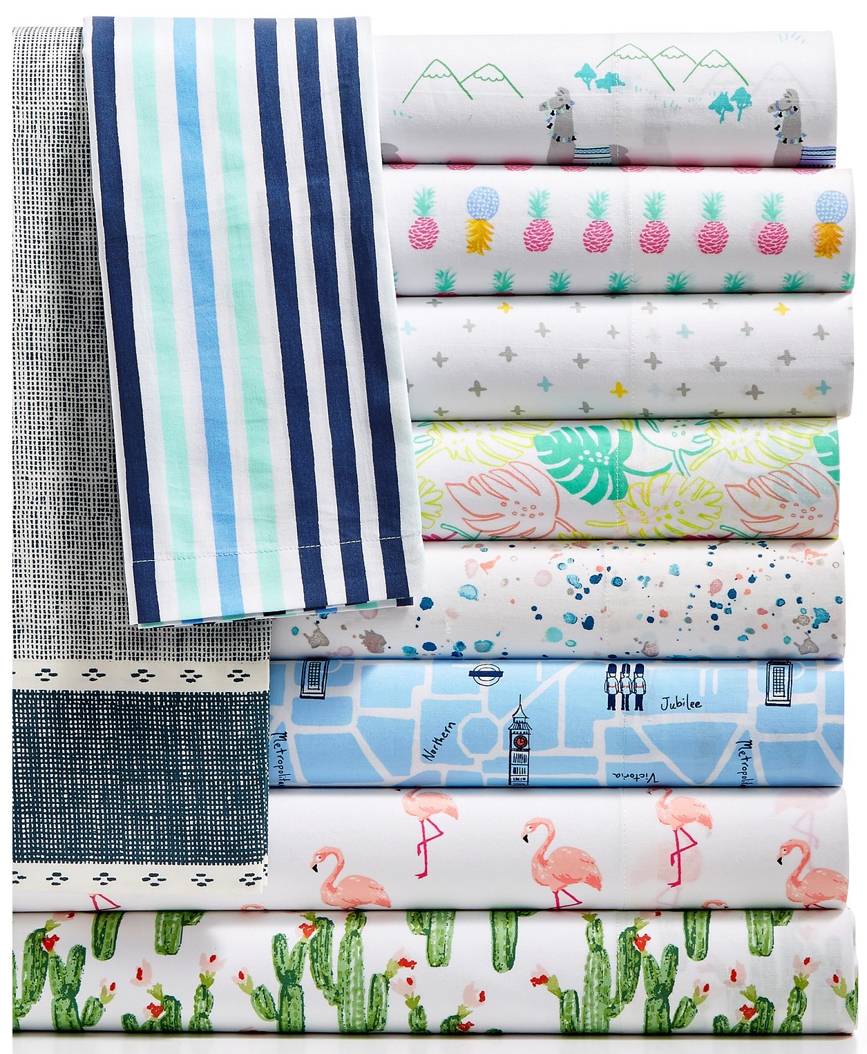 Whim Collection SS17 Sheets