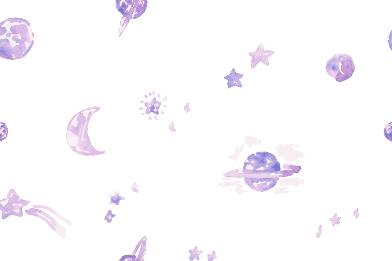 Outer Space print (for youth bedding)