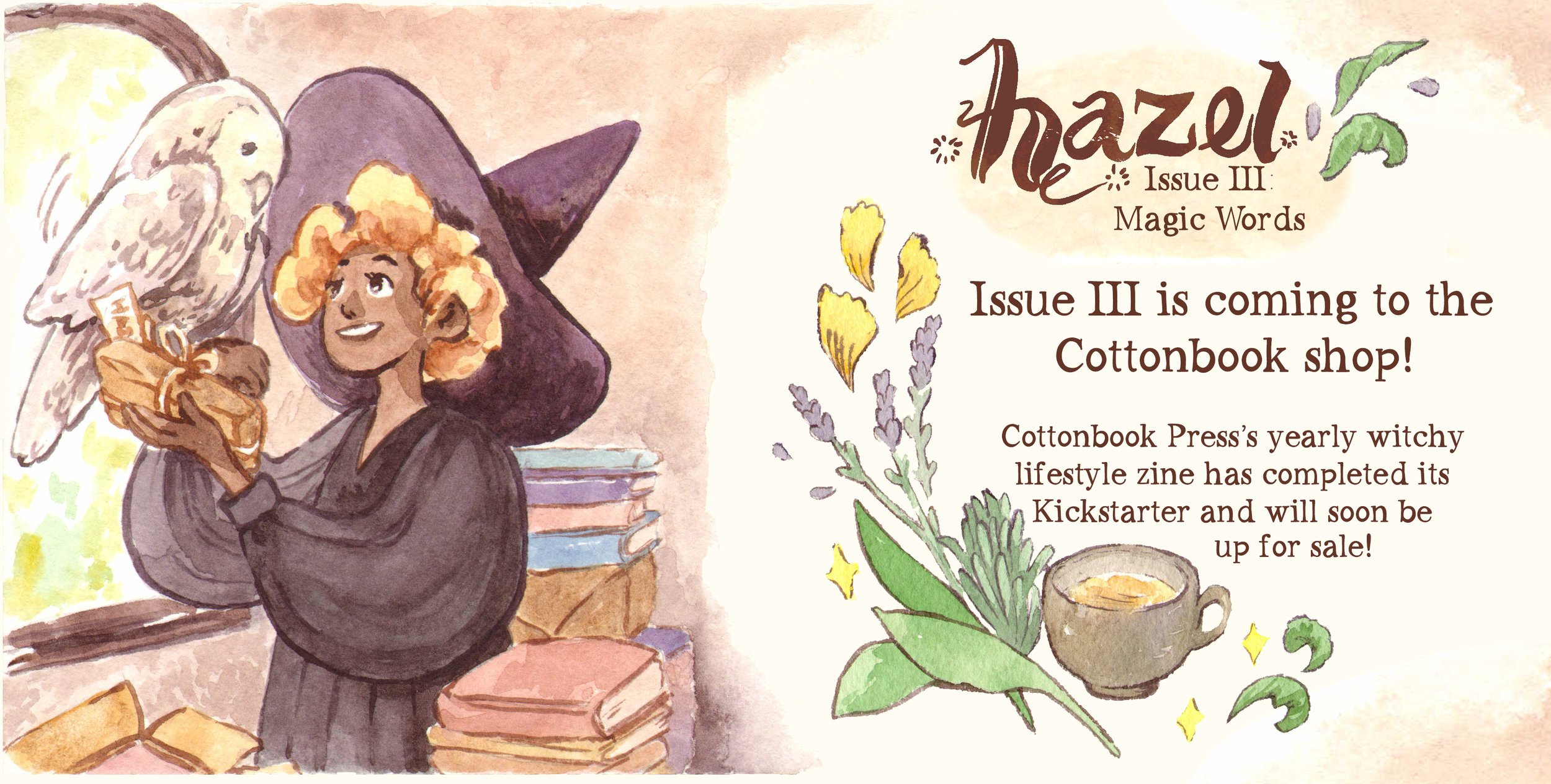 Hazel Issue III Kickstarter