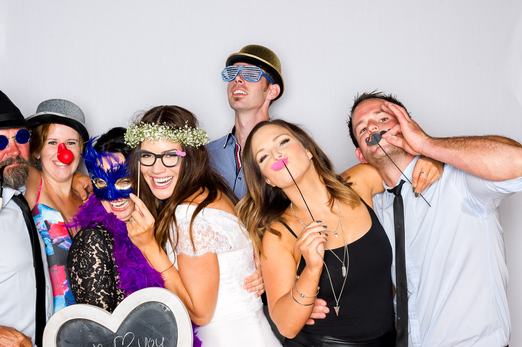 Justin and Jim Wedding Photo Booth