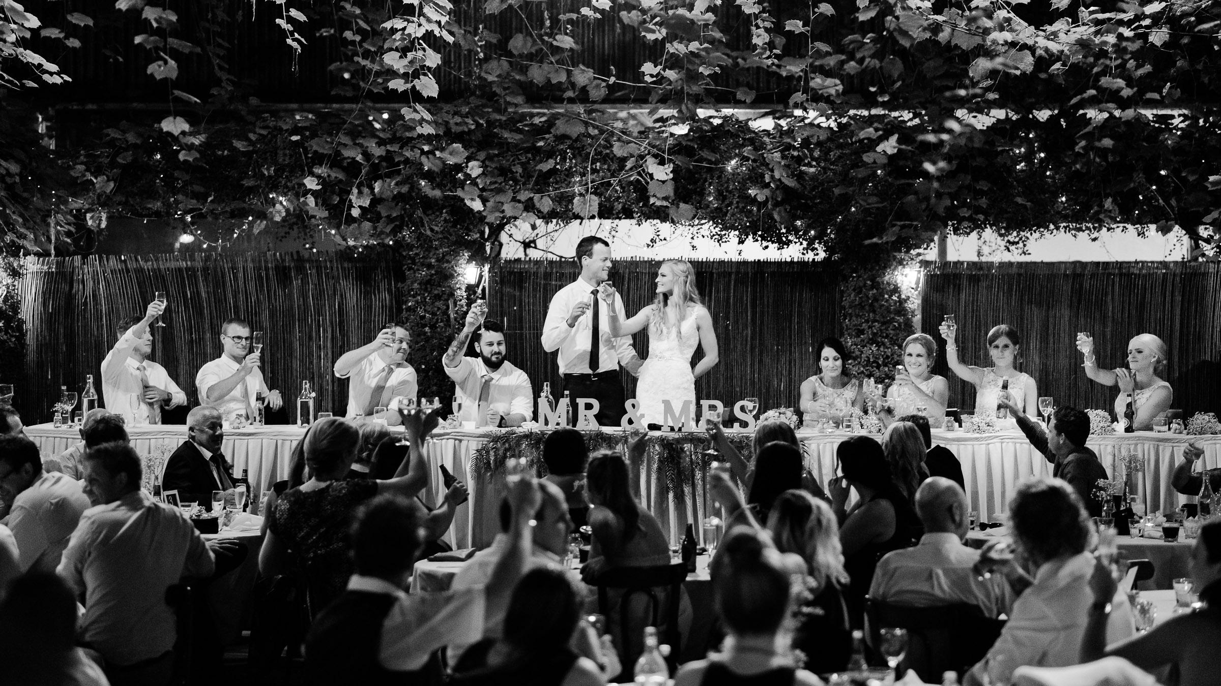 Wedding Speeches Radcliffes - Echuca Wedding Photographer