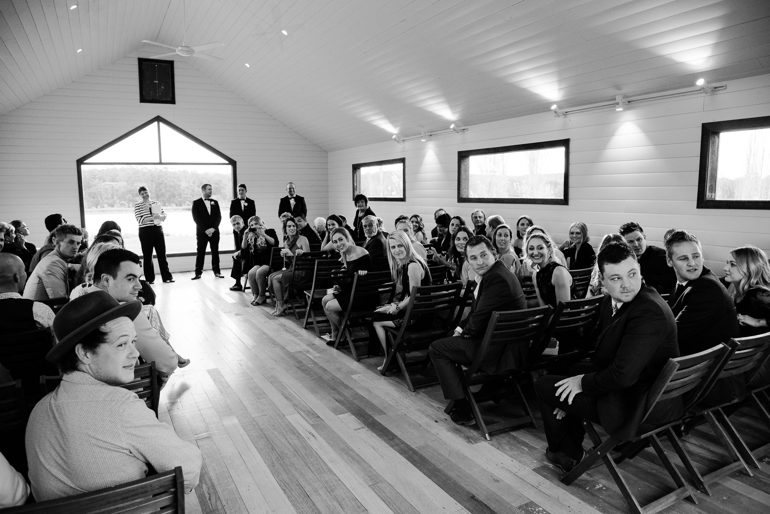 Wedding Photography in the Sault Chapel Daylesford
