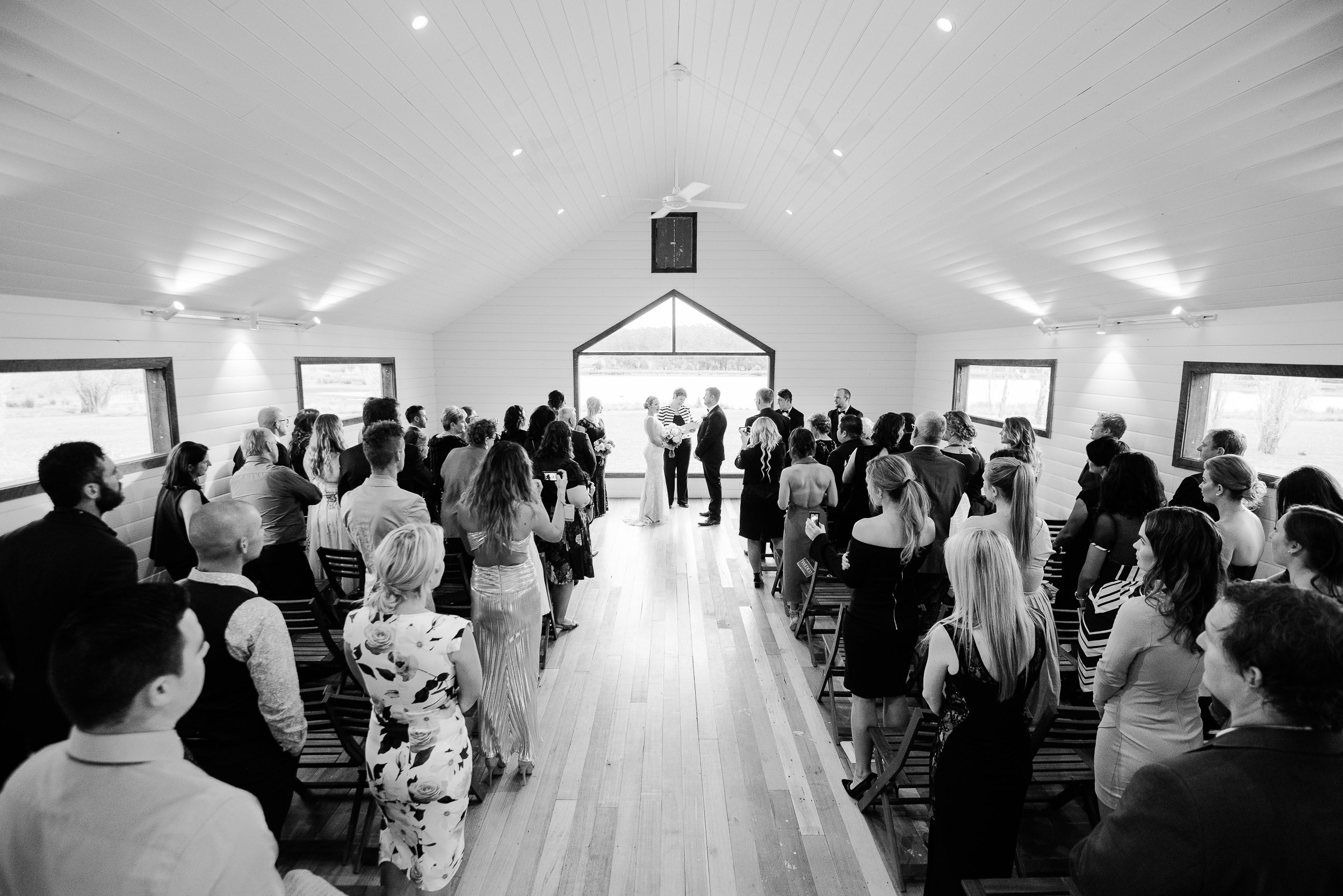 Wedding in the Sault Chapel Daylesford