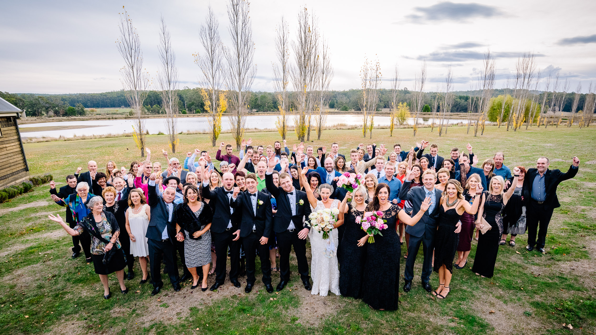 Sault Daylesford Wedding Photography Group Photo