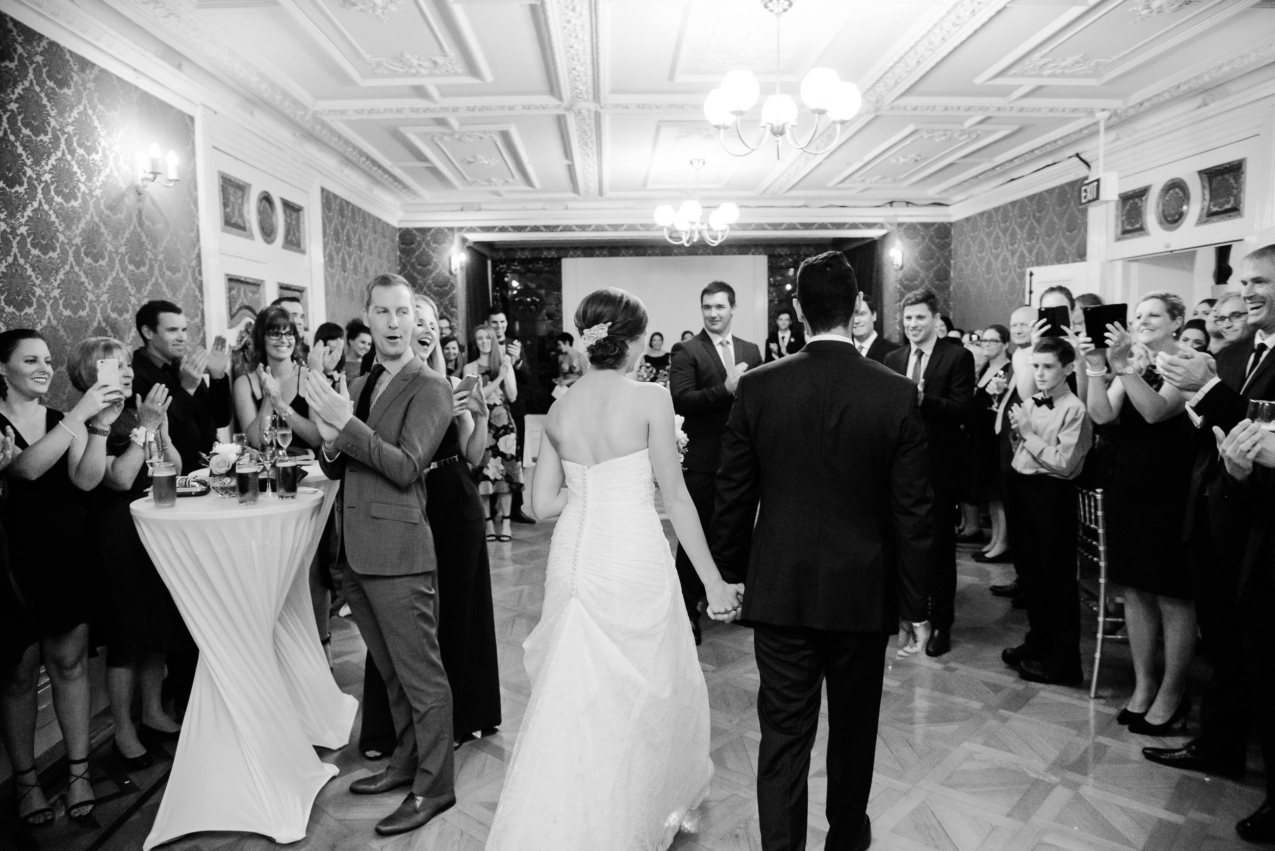 Wedding Reception at Fortuna Villa Bendigo