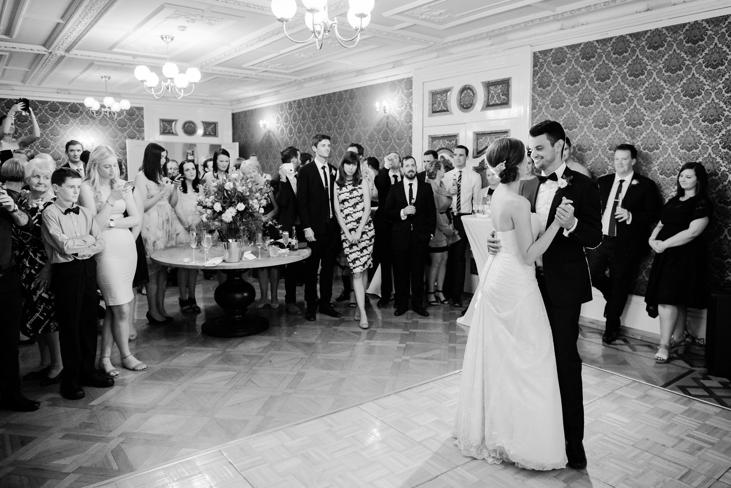 First Dance at Fortuna Villa Wedding in Bendigo