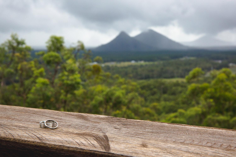 Sunshine Coast Wedding Ring Photography