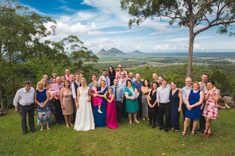 Glasshouse Mountains Wedding Guest Photographer on the Sunshine Coast