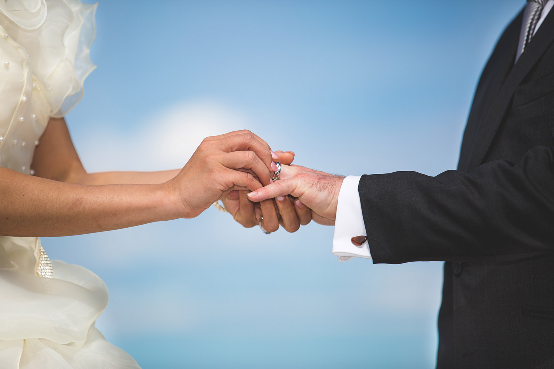 Ring Exchange, Brisbane Award Winning Wedding Photographer - Top Flaxton, Sunshine Coast, Australian Elopement Photography