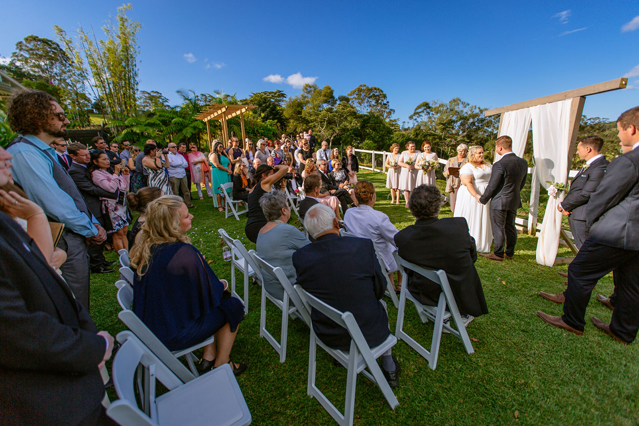 Destination Byron Bay Hinterland Country Wedding - Noosa, Sunshine Coast Elopement Photographer