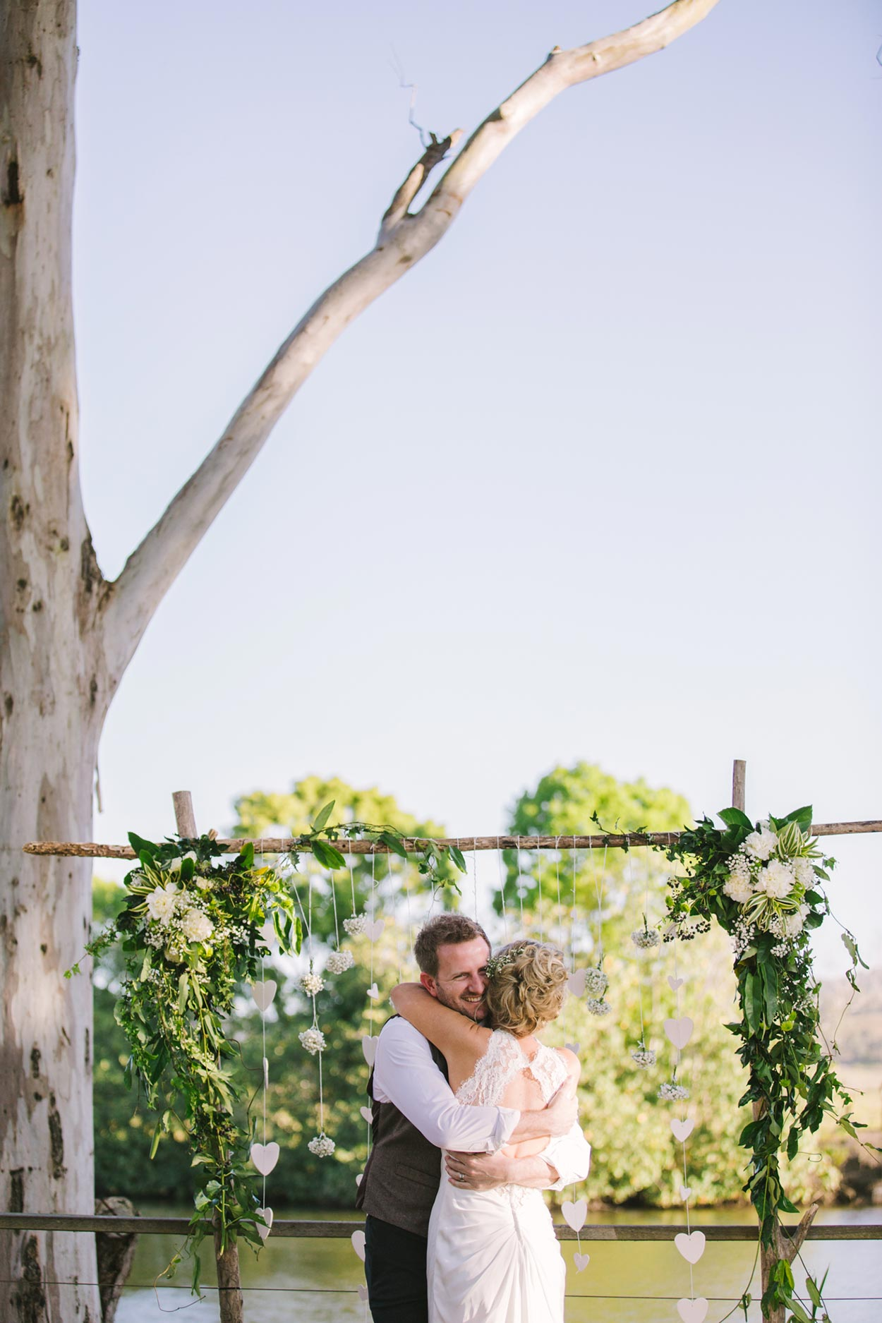 Eco Friendly Destination Wedding - Best Noosa River, Sunshine Coast, Australian Photographers
