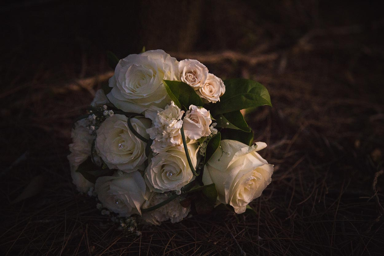 Environmentally Friendly Pre Wedding Bouquet - Sunshine Coast, Australian Destination Photographer