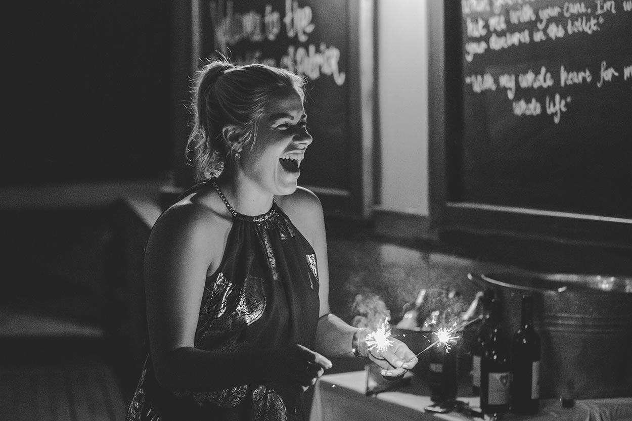 Wedding Pre Reception Sparklers, Flaxton - Hinterland Destination, Sunshine Coast, Australian Photographer