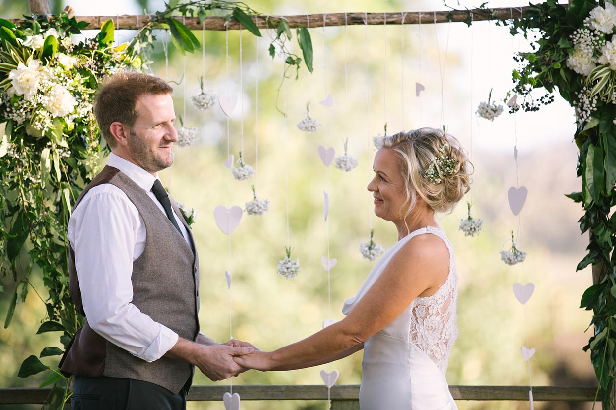 Best Brisbane, Sunshine Coast, Australian Pre Wedding Photographer - The Rocks Ceremony, Yandina