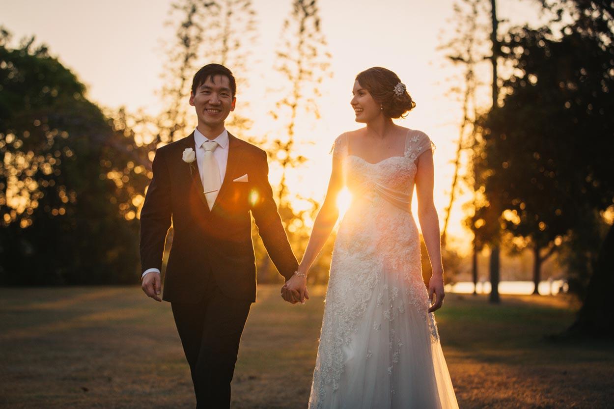 Gold Coast Sunset - Australian Destination Wedding Photographers