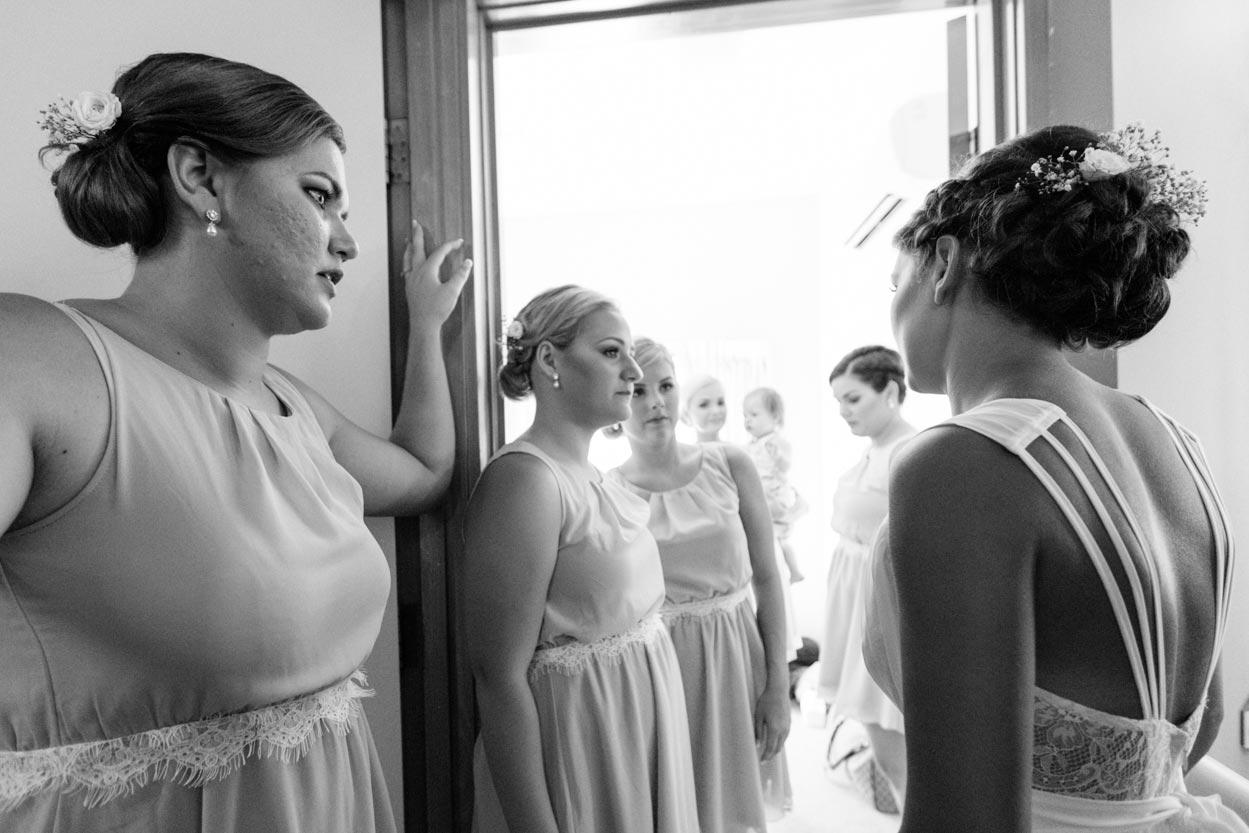 Beautiful Bridesmaids - Mooloolaba Wedding Photographers