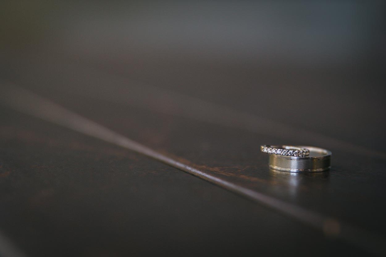 Wedding Ring Shot Photo - Sunshine Coast Photographer
