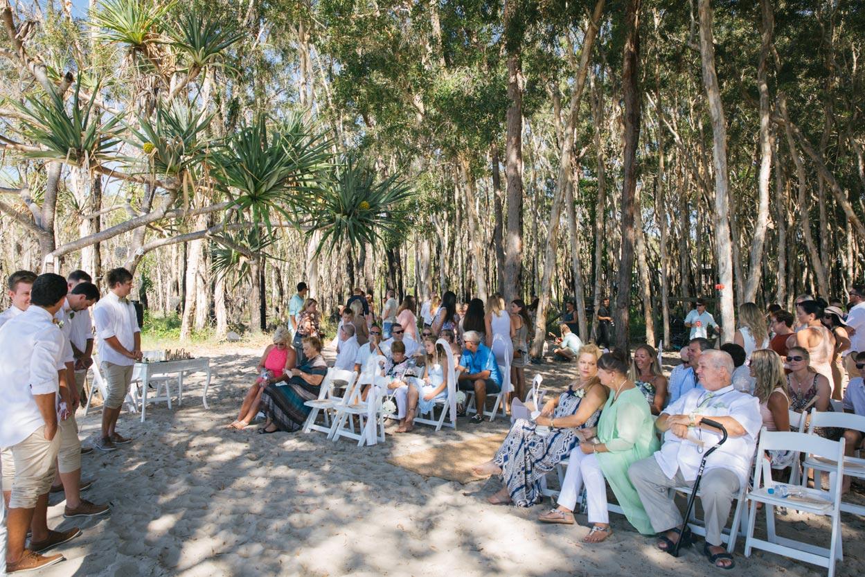 Fraser Island Wedding Ceremony - Noosa Main Beach Photographer