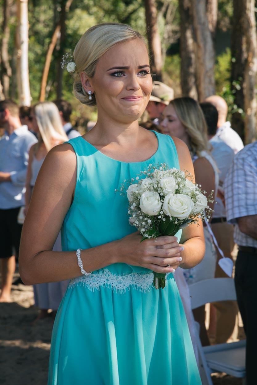 Real Wedding Ceremony - Coolum FIne Art Photographer