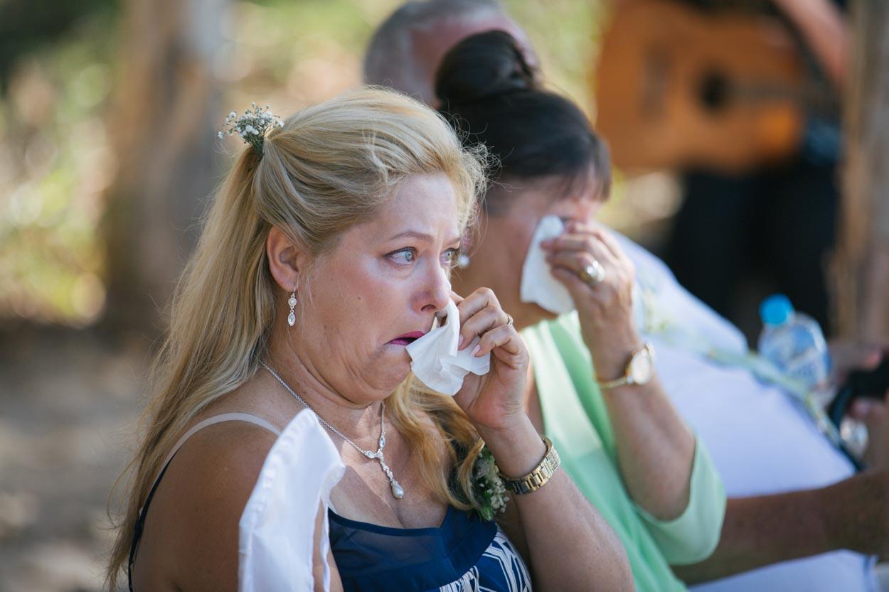 Emotions Captured on Camera - Sunshine Coast Wedding Photography