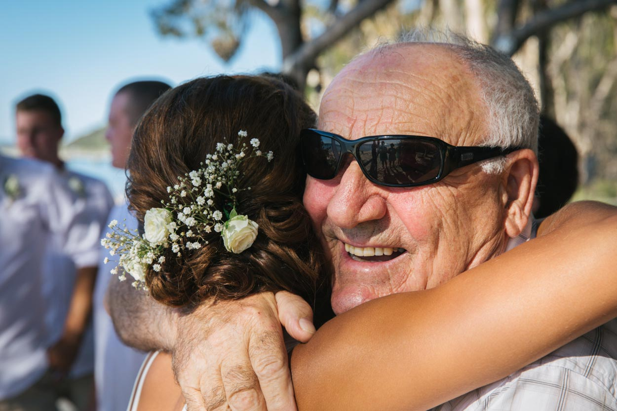 Wedding Ceremony Congratulations - Sunshine Coast Beach Photographers