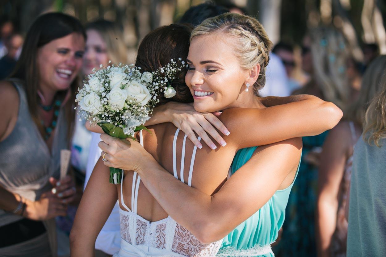 Candid Noosa Wedding Ceremony - Sunshine Coast Photographers, Queensland, Australian