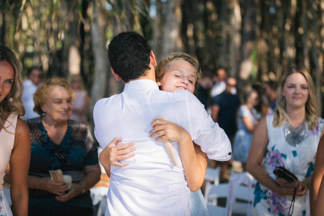 Tewantin Wedding - Noosa, Sunshine Cost Photographer