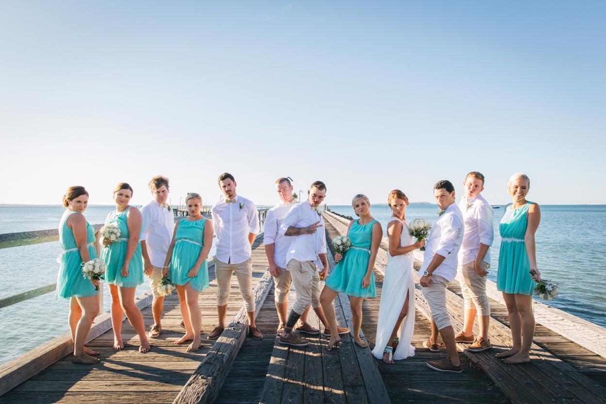 Blue Steel Wedding Photos - Noosa, Sunshine Coast Photographer