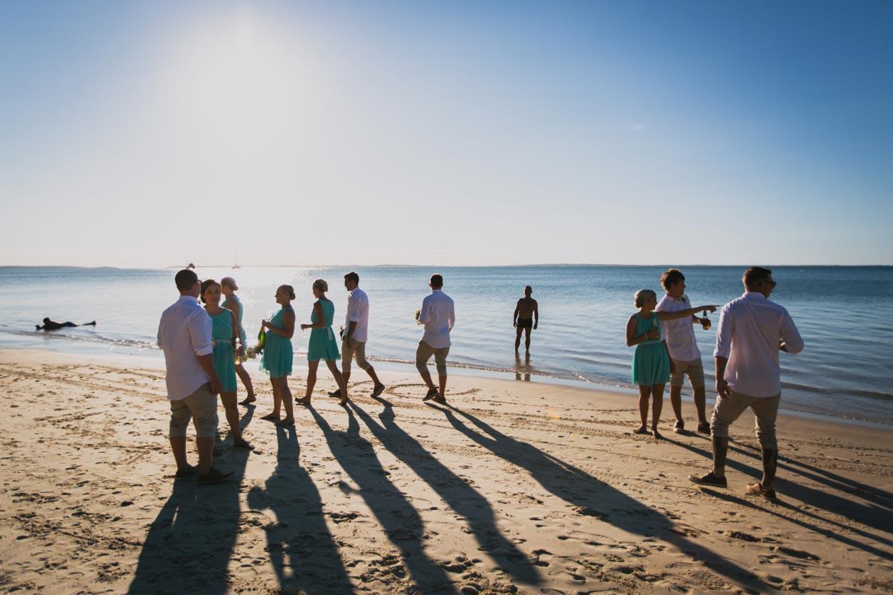 Sunrise Beach Wedding - Sunshine Coast Photographers