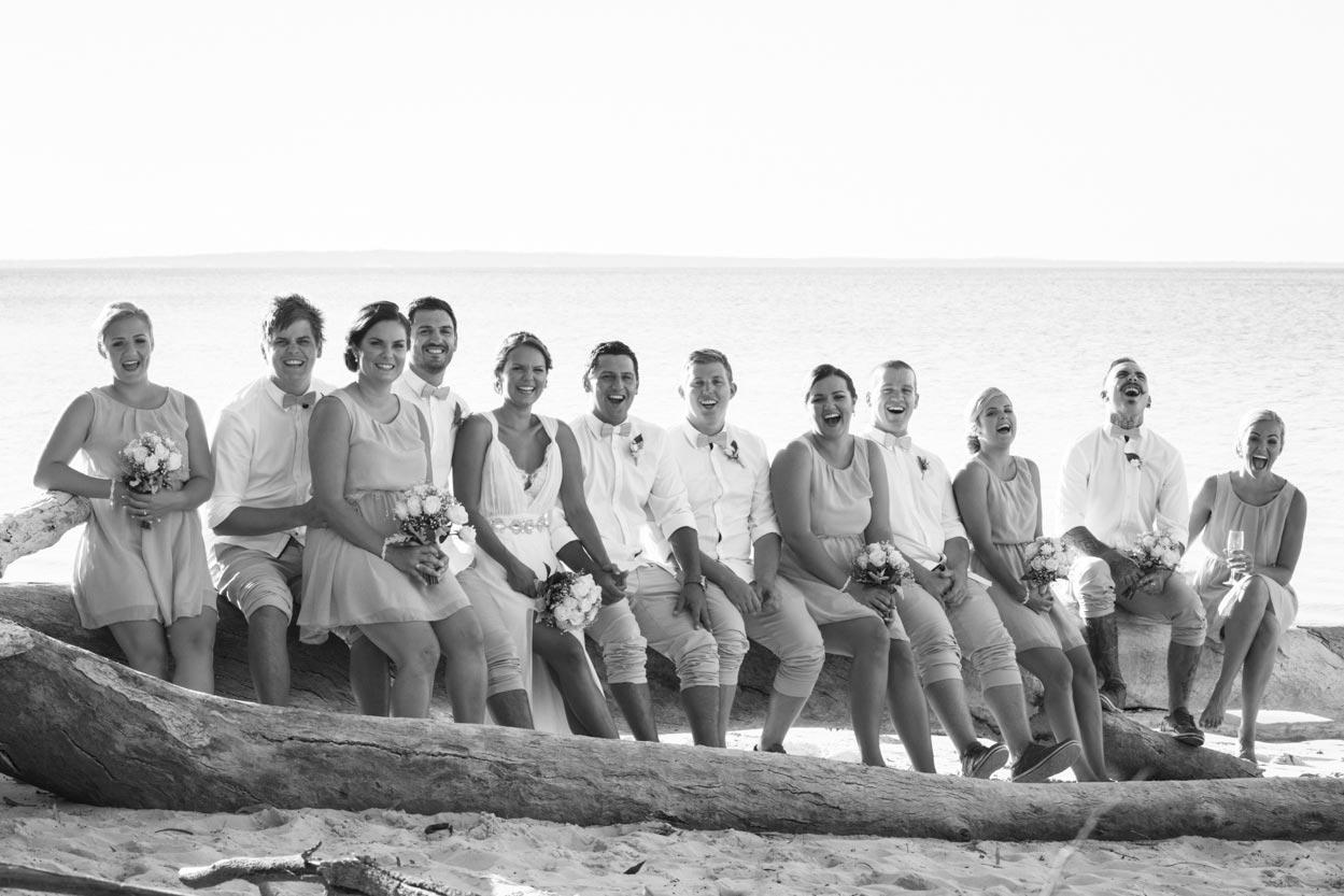 Fraser Island Boho Beach Wedding - Brisbane and Sunshine Coast Photographer