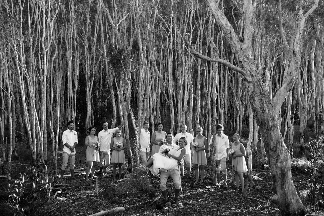 Fraser Island Eco Friendly Weddings - Brisbane Photographers