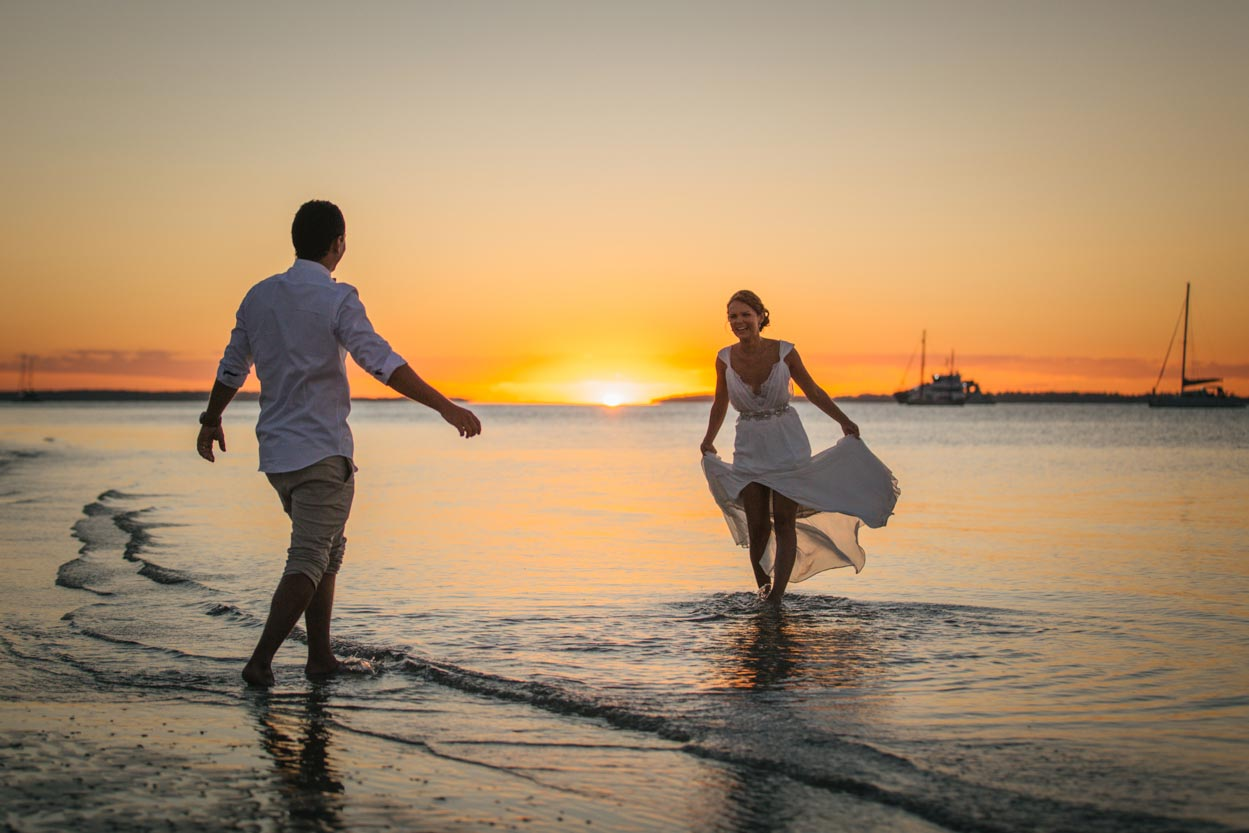 Noosaville Beach Wedding - Sunshine Coast Photographer