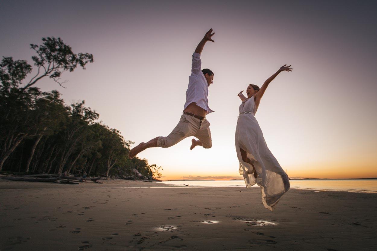 Amazing Destination Elopement Wedding - Sunshine Coast Photographers, Queensland, Australia