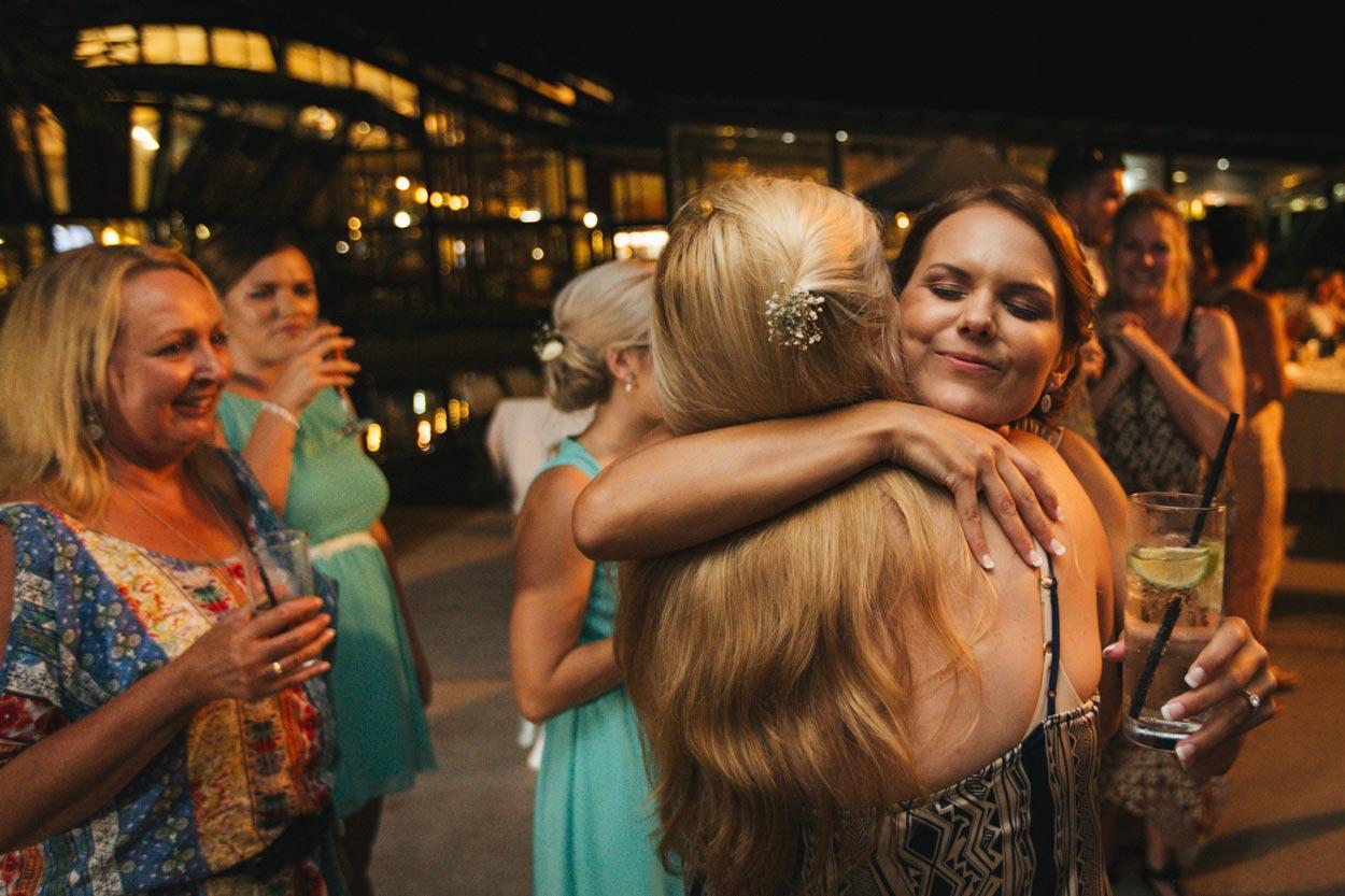 Kingfisher Bay Resort Wedding Reception - Sunshine Coast Photographer