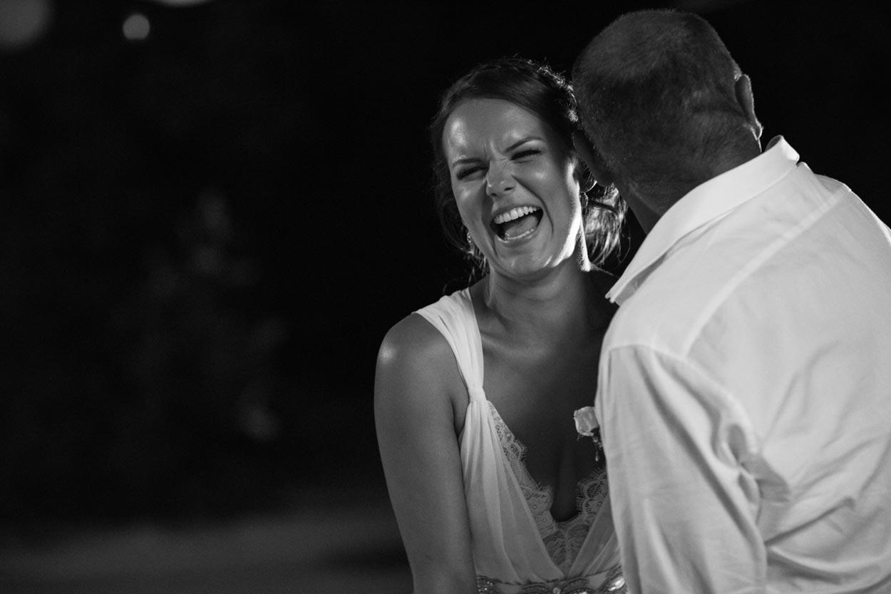 First Dance at Wedding - Caloundra, Sunshine Coast Photographers