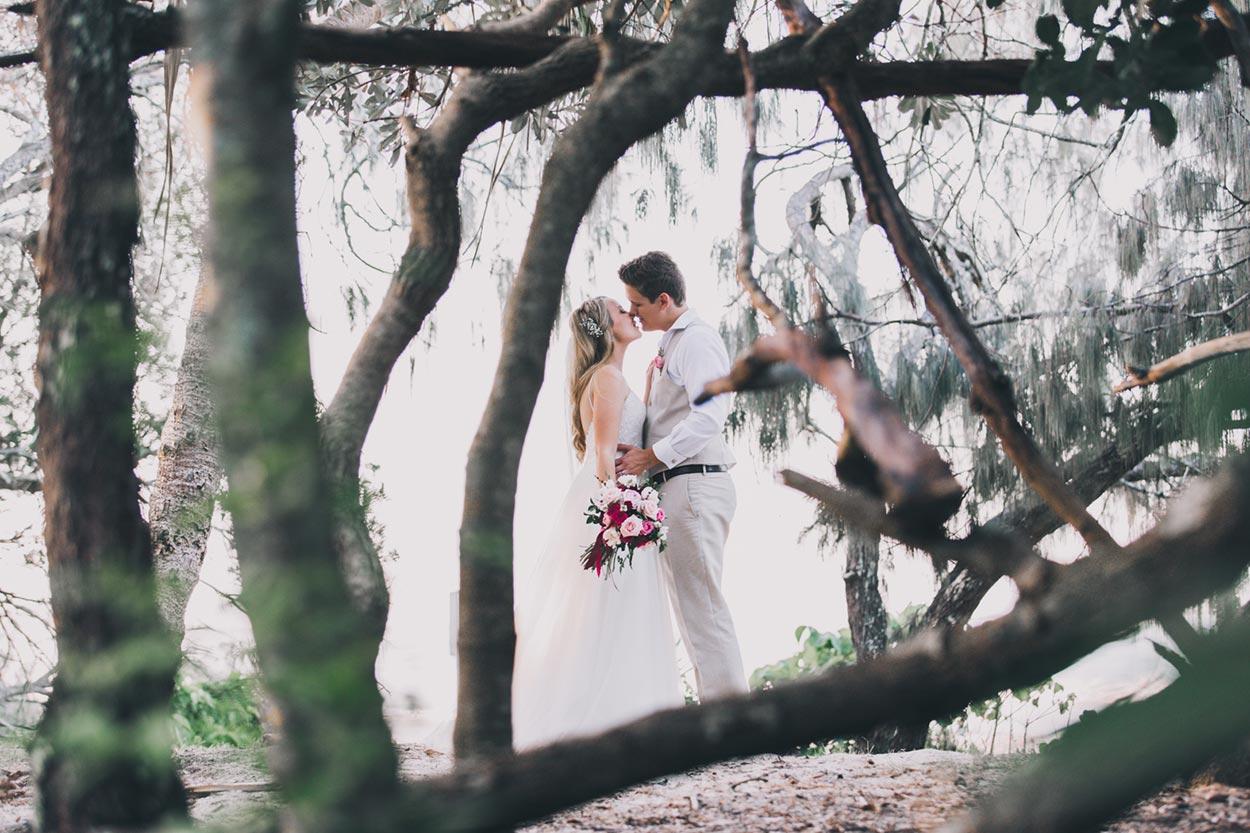 Hidden Grove, Noosa Heads Main Beach Pre Wedding - Sunshine Coast, Brisbane Elopement Photographers