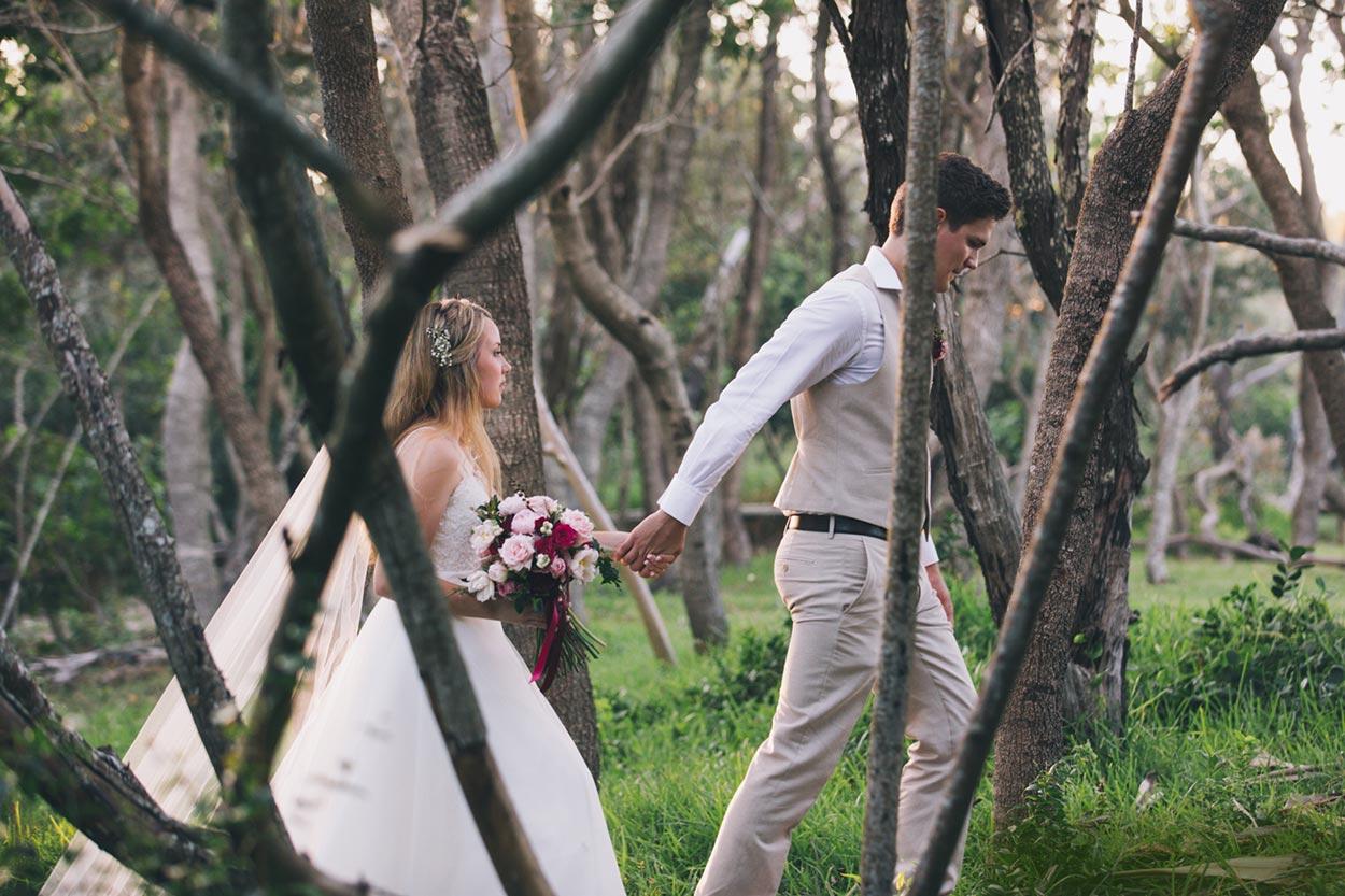 Noosa Hidden Grove and Brisbane Pre Wedding - Sunshine Coast, Queensland, Australian Elopement Photographers
